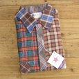 画像1: Wood Haven Crazy Pattern Flannel Shirts MADE IN USA Dead Stock 【Large】 (1)