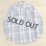 DAKOTA Heavy Flannel Western Shirts MADE IN USA 【Medium】