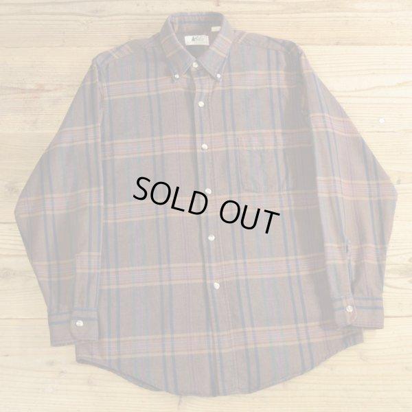 画像1: REI アールイーアイ フランネルシャツ USA製 【Mサイズ】