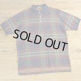 Polo Ralph Lauren ポロ ラルフローレン タータンチェック ポロシャツ USA製 【Lサイズ】
