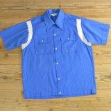70年代 NAT NAST ボーリングシャツ USA製 【Mサイズ】