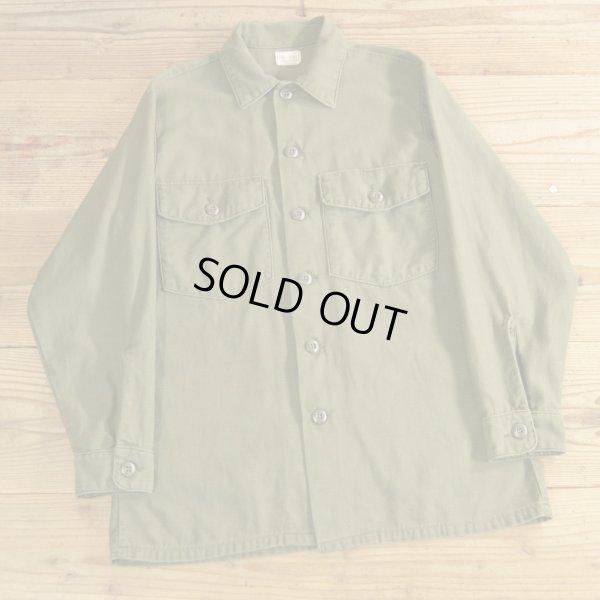 画像1: 70年代 US ARMY ミリタリーシャツ 【15 1/2×31】