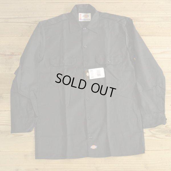 画像1: Dickies ディッキーズ ワークシャツ デッドストック 【Sサイズ】