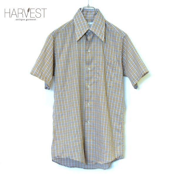 画像1: The DESIGNER AWARD Old Check Half Shirts