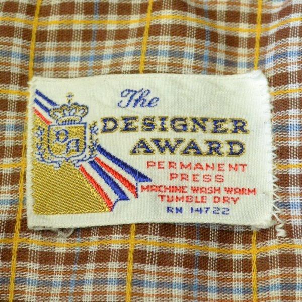 画像3: The DESIGNER AWARD Old Check Half Shirts