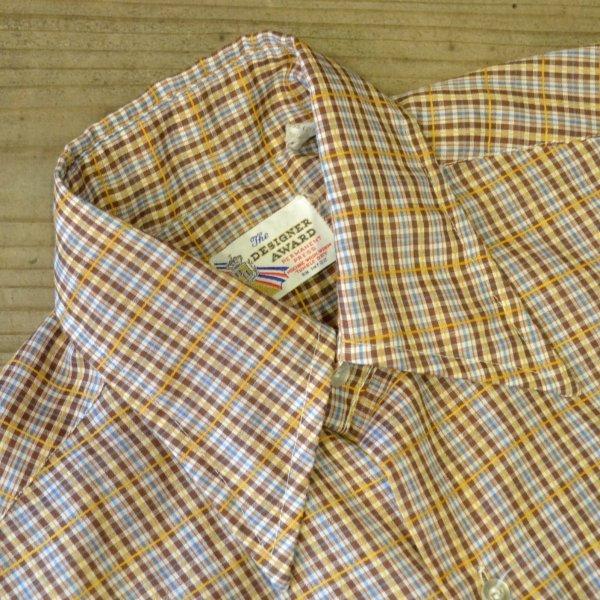 画像4: The DESIGNER AWARD Old Check Half Shirts