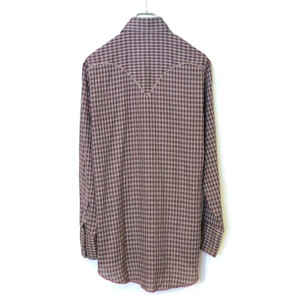 画像2: KARMAN Check Western Shirts