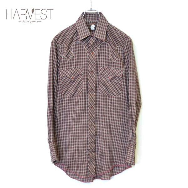 画像1: KARMAN Check Western Shirts