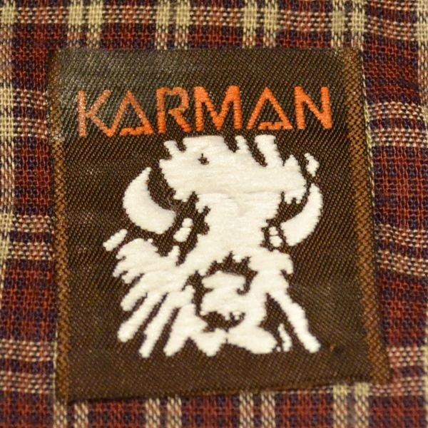 画像3: KARMAN Check Western Shirts