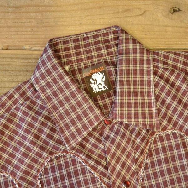 画像4: KARMAN Check Western Shirts