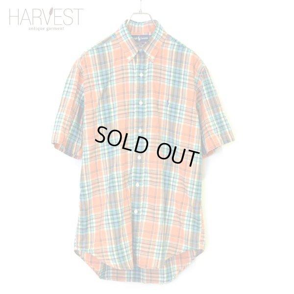 画像1: Ralph Lauren Half Check B.D Shirts