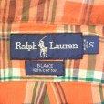 画像3: Ralph Lauren Half Check B.D Shirts (3)