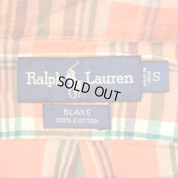 画像3: Ralph Lauren Half Check B.D Shirts