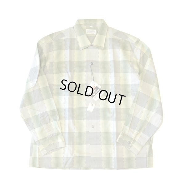 画像2: 60s Old Kentucky Vintage Check Box Shirts Dead Stock