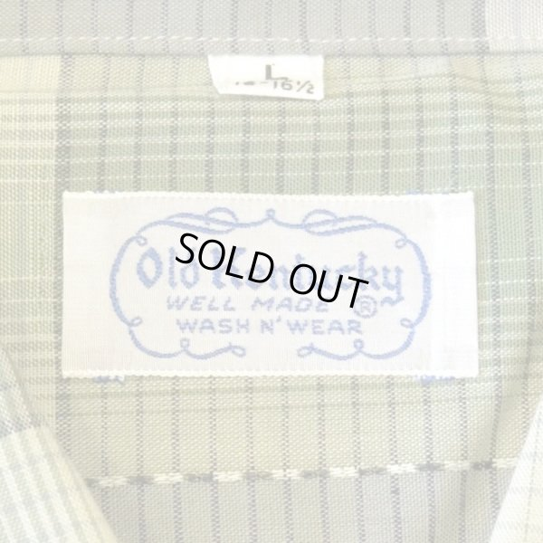 画像4: 60s Old Kentucky Vintage Check Box Shirts Dead Stock