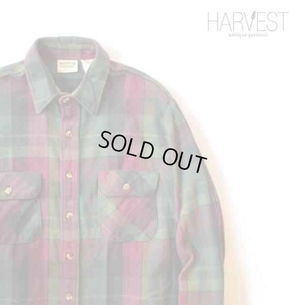 画像1: FIVE BROTHER Heavy Flannel Shirts
