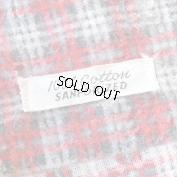 画像4: Unknown Old Print Flannel Shirts