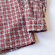 画像5: Unknown Old Print Flannel Shirts (5)