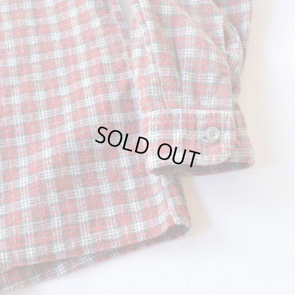 画像5: Unknown Old Print Flannel Shirts