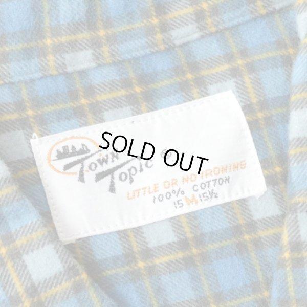 画像3: 70s TOWN Topic Print Flannel Shirts Dead Stock