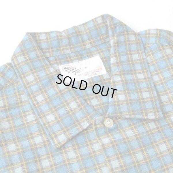 画像4: 70s TOWN Topic Print Flannel Shirts Dead Stock