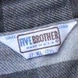画像3: FIVE BROTHER ファイブブラザー ネルシャツ 【リサイズ】【約 Sサイズ】 (3)