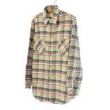 BIG MAC ビックマック フランネルシャツ 【約 Mサイズ】 【リサイズ】