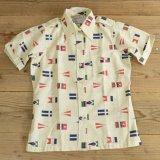 Chris Craft Flag Pattern Half Shirts