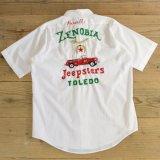 70s Royal Knight White Shirts wirh Chain Stitch