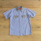 RED KAP Paisley Pattern Work Shirts 【Small】