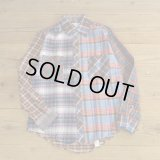 Wood Haven Crazy Pattern Flannle Shirts Dead Stock 【Medium】
