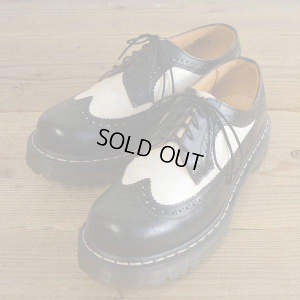 画像1: Dr Martens Wing Tip Boots