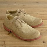 Vintage SHOE COMPANY Suede Wing-Tip Shoes