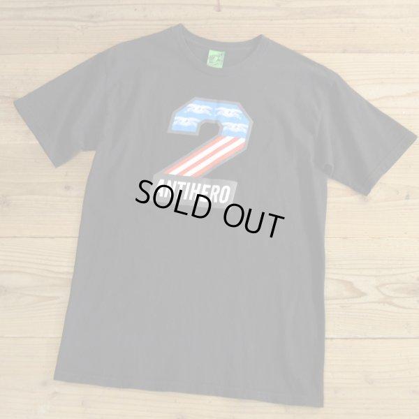画像1: ANTIHERO Print T-Shirts 【Medium】