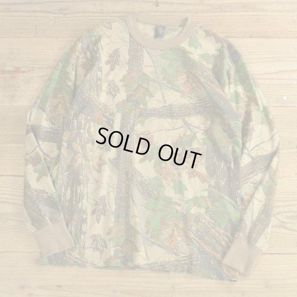 画像1: 80s Tee Swing Realtree Camouflage Long T-Shirts MADE IN USA 【Large】