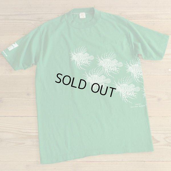 画像1: 80s Sportswear Print T-Shirts MADE IN USA 【Large】