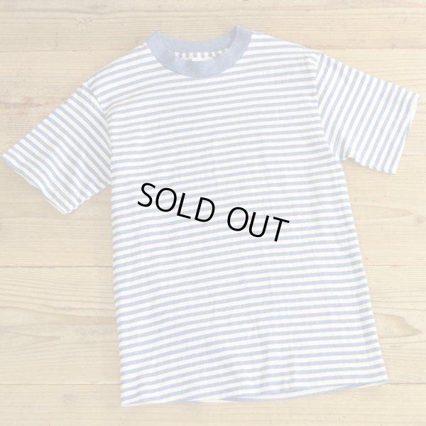 画像1: Tee Jays Border T-Shirts MADE IN USA Dead Stock 【X-Small】