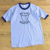 80s Velva Sheen Ringer T-Shirts 【Large】