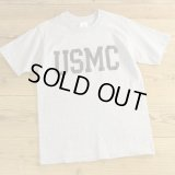 The Cotton Exchange USMC Print T-Shirts MADE IN USA 【Medium】