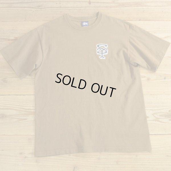 画像1: STUSSY ステューシー プリント Tシャツ USA製 【Lサイズ】