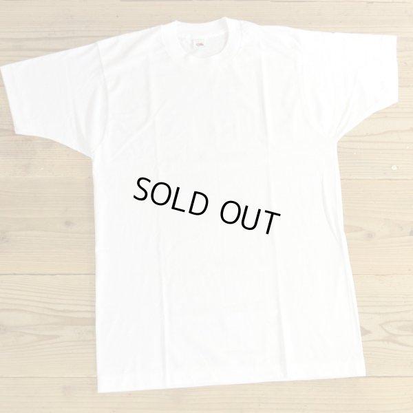 画像1: 80年代 FRUIT OF THE LOOM フルーツオブザルーム 無地 Tシャツ USA製 デッドストック 【Lサイズ】