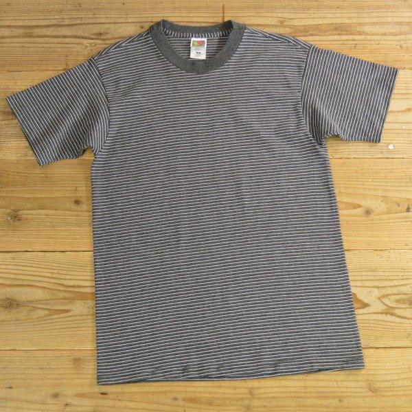 画像1: FRUIT OF THE LOOM フルーツオブザルーム ボーダー Tシャツ USA製 【Mサイズ】