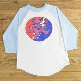 グレイトフルデッド デッドベア ラグラン Tシャツ 7分袖 USA製 【Sサイズ】