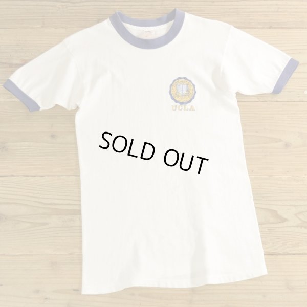 画像1: 70-80年代 Collegate Pacific UCLA カレッジ プリント Tシャツ USA製 【Sサイズ】