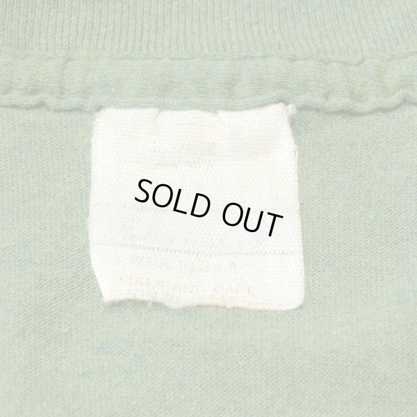 画像3: 80s Unknown Old Plain T-shirts with Pocket