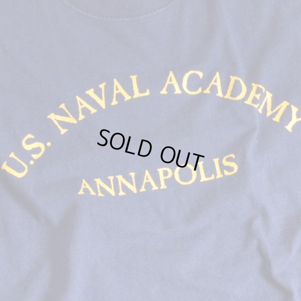 画像5: DELTA US NAVAL ACADEMY プリントTシャツ 【Lサイズ】