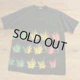 FRUIT OF THE LOOM Marijuana Print T-Shirts