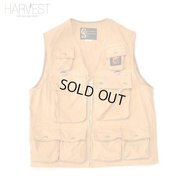 画像1: 60-70s Columbia Sportswear Vintage Fishing Vest