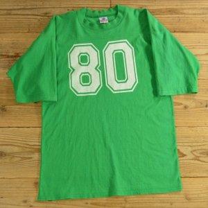 画像: SIGNATURE ナンバリング プリント フットボール Tシャツ 5分袖 USA製 【Lサイズ】
